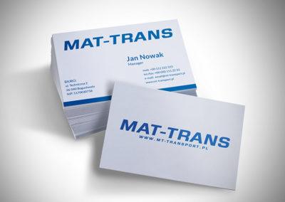 MAT-TRANS – wizytówka