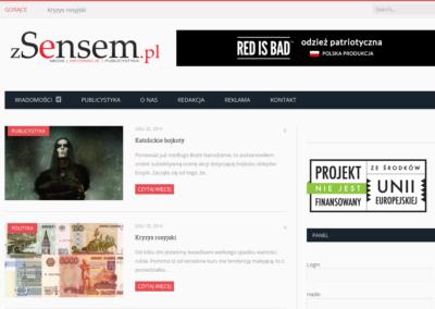 zSensem.pl – WWW